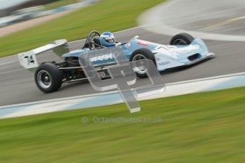 © Octane Photographic Ltd. HSCC Donington Park 17th March 2012. Historic Formula Ford 2000 Championship. Seamus Doyle - Lola T580. Digital ref : 0251cb1d8803