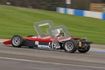 © Octane Photographic Ltd. HSCC Donington Park 17th March 2012. Historic Formula Ford 2000 Championship. John Bowles - Royale RP9. Digital ref : 0251lw7d1398