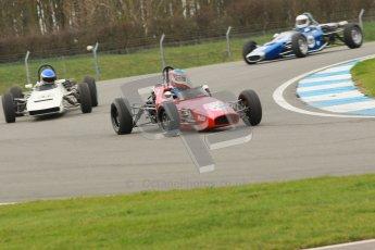 © Octane Photographic Ltd. HSCC Donington Park 17th March 2012. Historic Formula Ford Championship. Brian Morris - Macon MR7. Digital ref : 0240cb1d6593