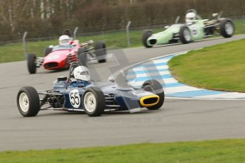 © Octane Photographic Ltd. HSCC Donington Park 17th March 2012. Historic Formula Ford Championship. Roger Arnold - Merlyn Mk20. Digital ref : 0240cb1d6601