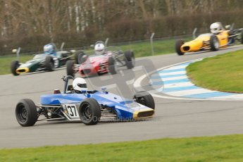 © Octane Photographic Ltd. HSCC Donington Park 17th March 2012. Historic Formula Ford Championship. William Nuthall - Jamun T2. Digital ref : 0240cb1d6622