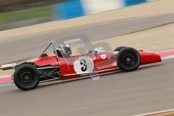 © Octane Photographic Ltd. HSCC Donington Park 17th March 2012. Historic Formula Ford Championship. John Murphy - Merlyn Mk20A. Digital ref : 0240cb1d6666