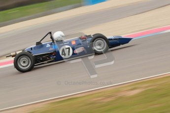© Octane Photographic Ltd. HSCC Donington Park 17th March 2012. Historic Formula Ford Championship. Louis Hanjoul - Elden Mk8/10. Digital ref : 0240cb1d6687