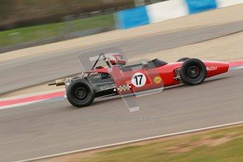 © Octane Photographic Ltd. HSCC Donington Park 17th March 2012. Historic Formula Ford Championship. Brian Morris - Macon MR7. Digital ref : 0240cb1d6840