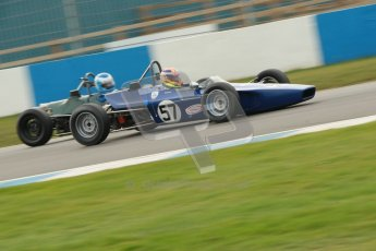 © Octane Photographic Ltd. HSCC Donington Park 17th March 2012. Historic Formula Ford Championship. David Wild - Lola T200. Digital ref : 0240cb1d6861