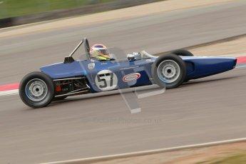 © Octane Photographic Ltd. HSCC Donington Park 17th March 2012. Historic Formula Ford Championship. David Wild - Lola T200. Digital ref : 0240cb1d6872