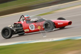© Octane Photographic Ltd. HSCC Donington Park 17th March 2012. Historic Formula Ford Championship. Brian Morris - Macon MR7. Digital ref : 0240cb1d6938