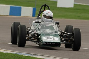 © Octane Photographic Ltd. HSCC Donington Park 17th March 2012. Historic Formula Ford Championship. Andrew MacGregor - Hawke DL2B. Digital ref : 0240cb7d3686