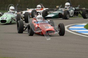 © Octane Photographic Ltd. HSCC Donington Park 17th March 2012. Historic Formula Ford Championship. Julian Pierce - Macon MR8. Digital ref : 0240lw7d4285