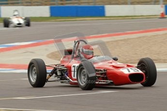 © Octane Photographic Ltd. HSCC Donington Park 17th March 2012. Historic Formula Ford Championship. Diogo Ferrao - Merlyn Mk20. Digital ref : 0240lw7d4434
