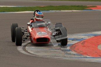 © Octane Photographic Ltd. HSCC Donington Park 17th March 2012. Historic Formula Ford Championship. Brian Morris - Macon MR7. Digital ref : 0240lw7d4454