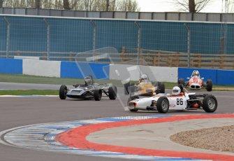 © Octane Photographic Ltd. HSCC Donington Park 17th March 2012. Historic Formula Ford Championship. Alan Fairbrother - Merlyn Mk20. Digital ref : 0240lw7d4515