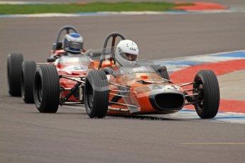 © Octane Photographic Ltd. HSCC Donington Park 17th March 2012. Historic Formula Ford Championship. Callum Grant - Merlyn Mk20a. Digital ref : 0240lw7d4558