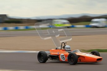 © Octane Photographic Ltd. HSCC Donington Park 17th March 2012. Historic Formula Ford Championship. Simon Toyne - Lola T200. Digital ref : 0240lw7d4740