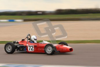 © Octane Photographic Ltd. HSCC Donington Park 17th March 2012. Historic Formula Ford Championship. Alistair Littlewood - Merlyn Mk20A. Digital ref : 0240lw7d4813