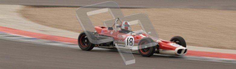 © Octane Photographic Ltd. HSCC Donington Park 17th March 2012. Historic Formula Ford Championship. Stuart Dix - Cooper Chinook. Digital ref : 0240lw7d5186