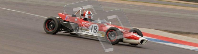 © Octane Photographic Ltd. HSCC Donington Park 17th March 2012. Historic Formula Ford Championship. Stuart Dix - Cooper Chinook. Digital ref : 0240lw7d5215