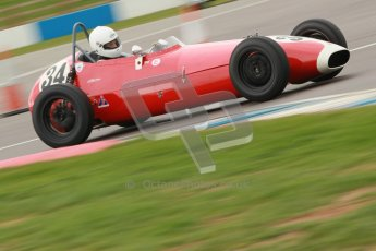 © Octane Photographic Ltd. HSCC Donington Park 17th March 2012. Historic Formula Junior Championship (Front engine). Richard Ellingworth - Gemini Mk2 . Digital ref : 0241cb1d7109