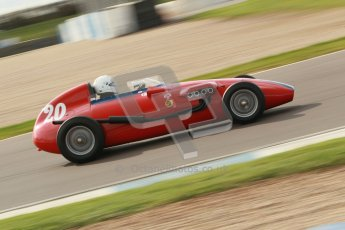 © Octane Photographic Ltd. HSCC Donington Park 17th March 2012. Historic Formula Junior Championship (Front engine). Pat Barford - Stanguellini. Digital ref : 0241cb1d7207
