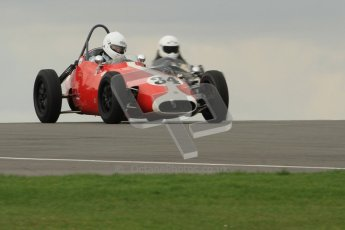© Octane Photographic Ltd. HSCC Donington Park 17th March 2012. Historic Formula Junior Championship (Front engine). Richard Ellingworth - Gemini Mk2. Digital ref : 0241cb7d3839