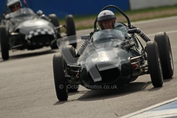 © Octane Photographic Ltd. HSCC Donington Park 17th March 2012. Historic Formula Junior Championship (Front engine). Digital ref : 0241cb7d4055