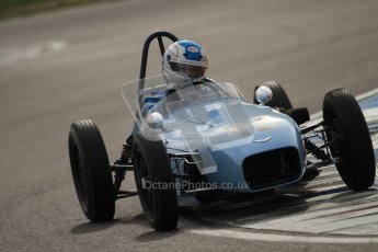 © Octane Photographic Ltd. HSCC Donington Park 17th March 2012. Historic Formula Junior Championship (Front engine). Stuart Roach - Alexis MK2. Digital ref : 0241cb7d4105
