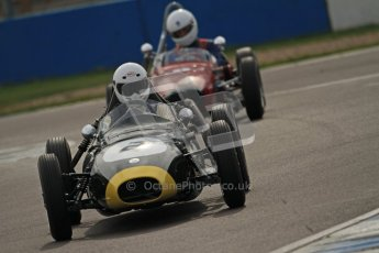 © Octane Photographic Ltd. HSCC Donington Park 17th March 2012. Historic Formula Junior Championship (Front engine). Jack Woodhouse - Elva 100. Digital ref : 0241cb7d4110