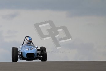 © Octane Photographic Ltd. HSCC Donington Park 17th March 2012. Historic Formula Junior Championship (Front engine). Stuart Roach - Alexis MK2. Digital ref : 0241lw7d5440