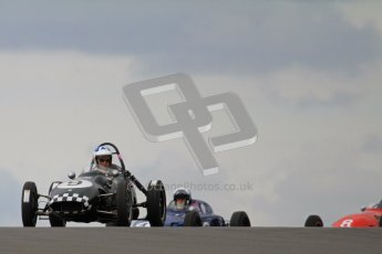 © Octane Photographic Ltd. HSCC Donington Park 17th March 2012. Historic Formula Junior Championship (Front engine). Stephen Barlow - BMC MK1. Digital ref : 0241lw7d5451