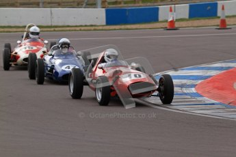 March 2012. Historic Formula Junior Championship (Front engine). Gil Duffy - Bond. Digital ref : 0241lw7d5578