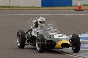 © Octane Photographic Ltd. HSCC Donington Park 17th March 2012. Historic Formula Junior Championship (Front engine). Jack Woodhouse - Elva 100. Digital ref : 0241lw7d5634