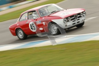 © Octane Photographic Ltd. HSCC Donington Park 17th March 2012. Historic Road Sports Championship. Johan Denekamp - Alfa Romeo GTV. Digital ref : 0242cb1d7322