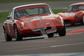 © Octane Photographic Ltd. HSCC Donington Park 17th March 2012. Historic Road Sports Championship. Jim Gathercole - Lotus Elan Plus 2. Digital ref : 0242cb7d4230