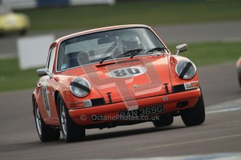 © Octane Photographic Ltd. HSCC Donington Park 17th March 2012. Historic Road Sports Championship. Hohn Shaw - Porsche 911. Digital ref : 0242cb7d4274