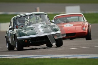 © Octane Photographic Ltd. HSCC Donington Park 17th March 2012. Historic Road Sports Championship. Paul Tooms - Lotus Elan. Digital ref : 0242cb7d4340