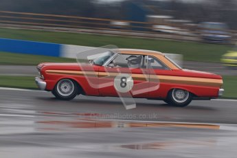 © Octane Photographic Ltd. HSCC Donington Park 18th March 2012. Historic Touring car Championship (over 1600cc). Leo Voyazides - Ford Falcon. Digital ref : 0249lw7d0051