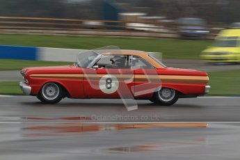 © Octane Photographic Ltd. HSCC Donington Park 18th March 2012. Historic Touring car Championship (over 1600cc). Leo Voyazides - Ford Falcon. Digital ref : 0249lw7d9965