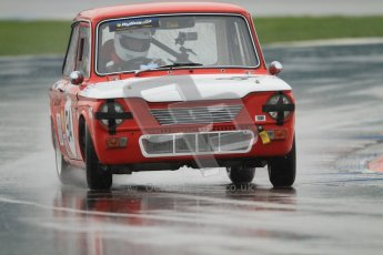 © Octane Photographic Ltd. HSCC Donington Park 18th May 2012. Historic Touring car Championship (up to 1600cc). Steve Platts - Singer Chamois. Digital ref : 0246cb7d5517