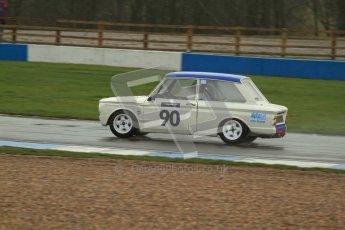 © Octane Photographic Ltd. HSCC Donington Park 18th May 2012. Historic Touring car Championship (up to 1600cc). Jon Orr - Hillman Imp. Digital ref : 0246lw7d8513