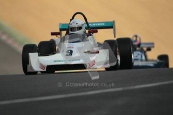 © 2012 Octane Photographic Ltd. HSCC Historic Super Prix - Brands Hatch - 30th June 2012. HSCC - Classic Formula 3 - Qualifying. Bruno Huber - Argo JM1. Digital Ref: 0381lw1d8153