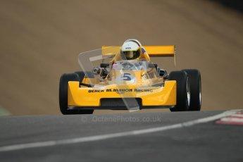 © 2012 Octane Photographic Ltd. HSCC Historic Super Prix - Brands Hatch - 30th June 2012. HSCC - Classic Formula 3 - Qualifying. Maxence Thoinard - Chevron B47. Digital Ref: 0381lw1d8218