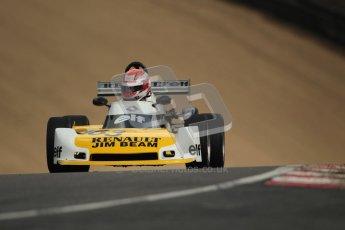 © 2012 Octane Photographic Ltd. HSCC Historic Super Prix - Brands Hatch - 30th June 2012. HSCC - Classic Formula 3 - Qualifying. Jean Claude Magne - Martini Mk31. Digital Ref: 0381lw1d8261