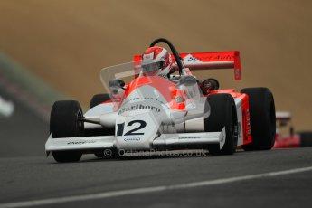 © 2012 Octane Photographic Ltd. HSCC Historic Super Prix - Brands Hatch - 30th June 2012. HSCC - Classic Formula 3 - Qualifying. Pierre Lemasson - Martini Mk.39. Digital Ref: 0381lw1d8298
