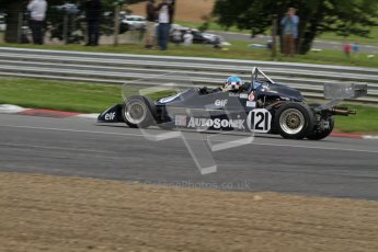 © 2012 Octane Photographic Ltd. HSCC Historic Super Prix - Brands Hatch - 30th June 2012. HSCC Classic Formula 3 - Qualifying. Luc Cheminiot - Martini Mk.31. Digital Ref: 0377lw7d4329