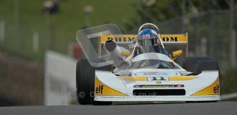 © 2012 Octane Photographic Ltd. HSCC Historic Super Prix - Brands Hatch - 30th June 2012. HSCC Derek Bell Trophy - Qualifying. Hans Peter - Ralt RT1. Digital Ref : 0376lw1d9817