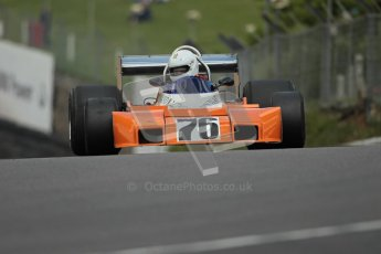 © 2012 Octane Photographic Ltd. HSCC Historic Super Prix - Brands Hatch - 30th June 2012. HSCC Derek Bell Trophy - Qualifying. Tim Barry - Trojan T102. Digital Ref : 0376lw1d9833