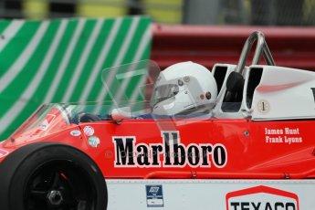 © 2012 Octane Photographic Ltd. HSCC Historic Super Prix - Brands Hatch - 30th June 2012. HSCC Derek Bell Trophy - Qualifying. McLaren M26, Historic F1. Digital Ref : 0376lw1d9927