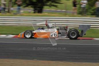 © 2012 Octane Photographic Ltd. HSCC Historic Super Prix - Brands Hatch - 30th June 2012. HSCC - Derek Bell Trophy - Qualifying. Tim Barry - Trojan T102. Digital Ref: 0381lw7d4983