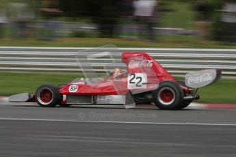 © 2012 Octane Photographic Ltd. HSCC Historic Super Prix - Brands Hatch - 30th June 2012. HSCC - Derek Bell Trophy - Qualifying. Mark Dwyer - Lola T400. Digital Ref: 0381lw7d5119