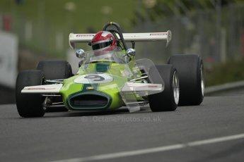© 2012 Octane Photographic Ltd. HSCC Historic Super Prix - Brands Hatch - 30th June 2012. HSCC Grandstand Motor Sport Historic Formula 2 - Qualifying. Ian Gray - Brabham BT30. Digital Ref: 0377lw1d8947